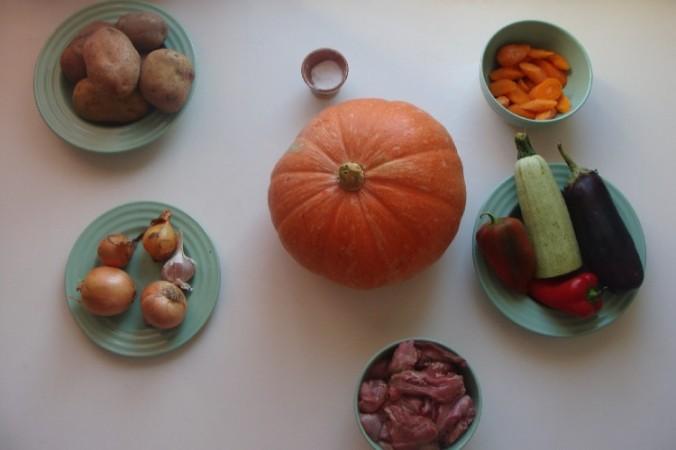 Печені овочі в гарбузі_2